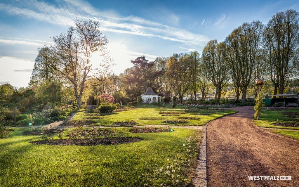 Parkanlage Rosengarten in Zweibrücken