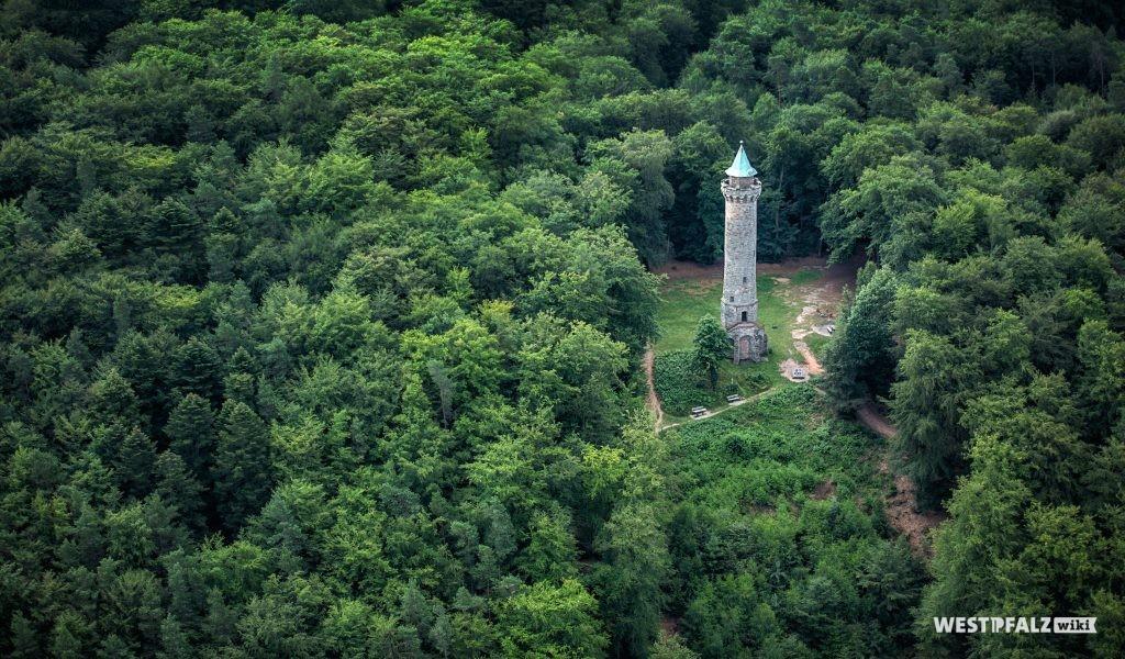 Humbergturm Luftaufnahme