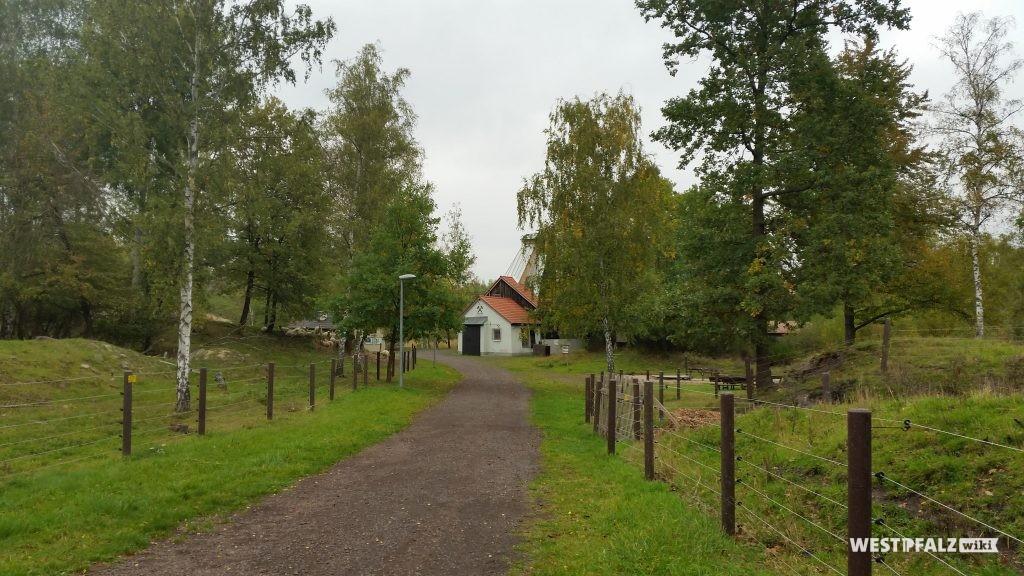 Wege im Gebiet
