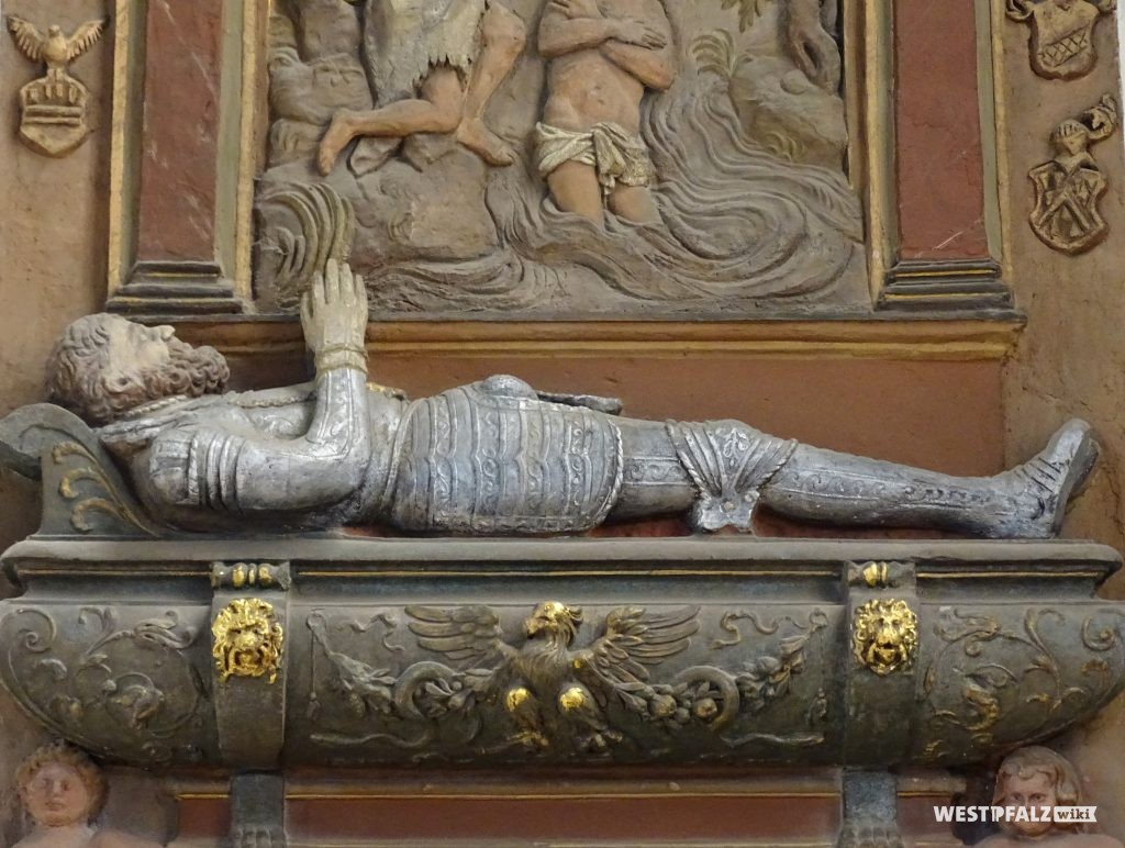 Grabmal des Ritters Friedrich von Eltz und Blieskastel († 1560)