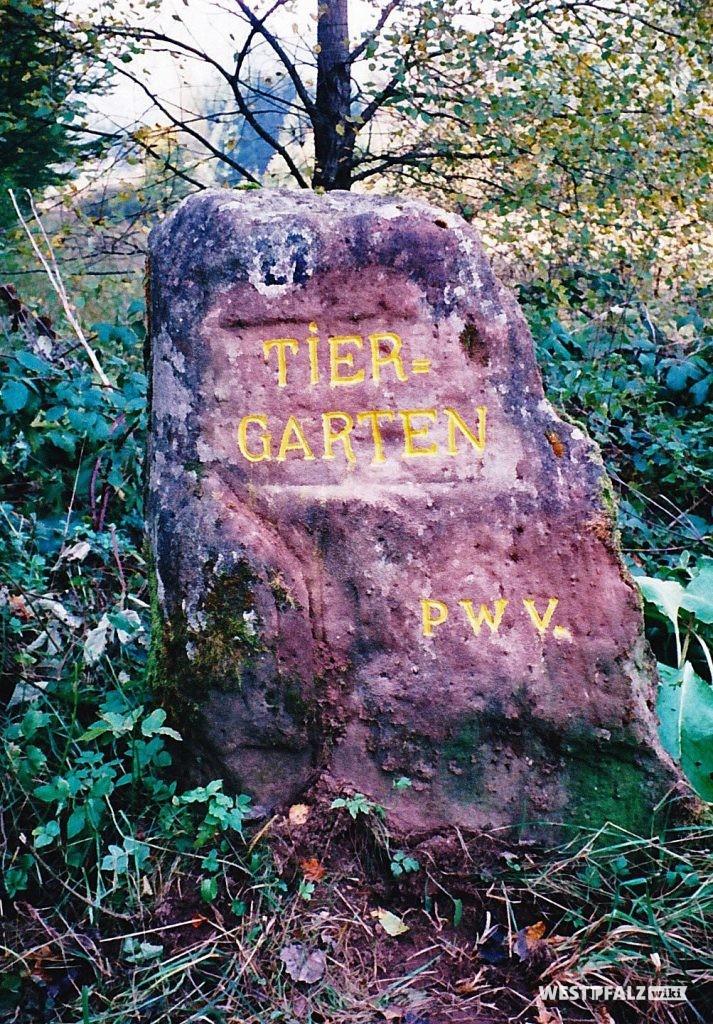 """Ritterstein """"Tiergarten"""" (Ritterstein Nr. 46)"""