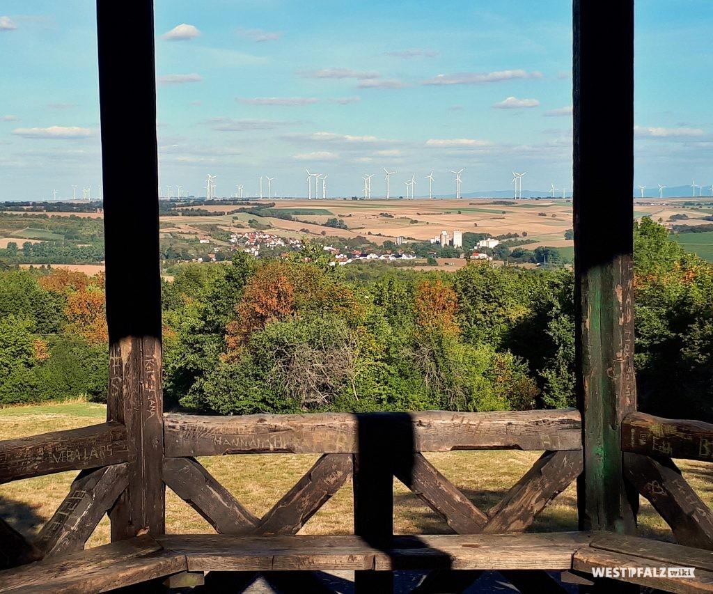 Aussicht vom Schneckenturm in Kirchheimbolanden