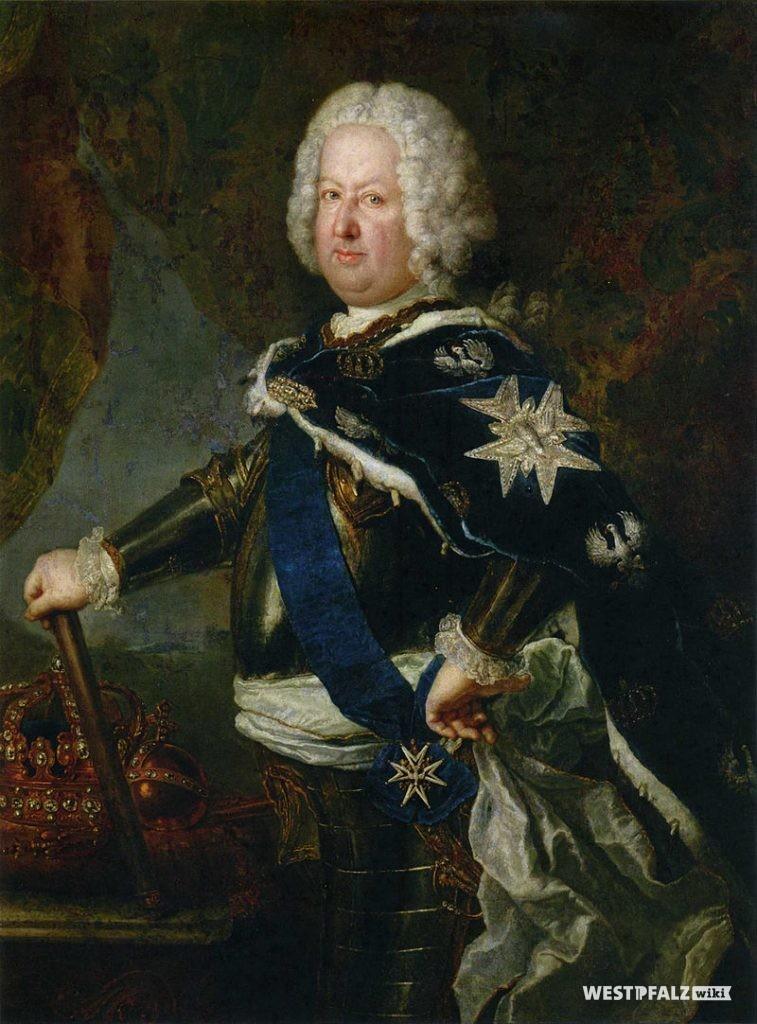 Gemälde von Antoine Pesne um 1731: Stanislaus I. Leszczyński im Harnisch als König von Polen und Großfürst von Litauen mit der Schärpe des Ordens vom Weißen Adler.