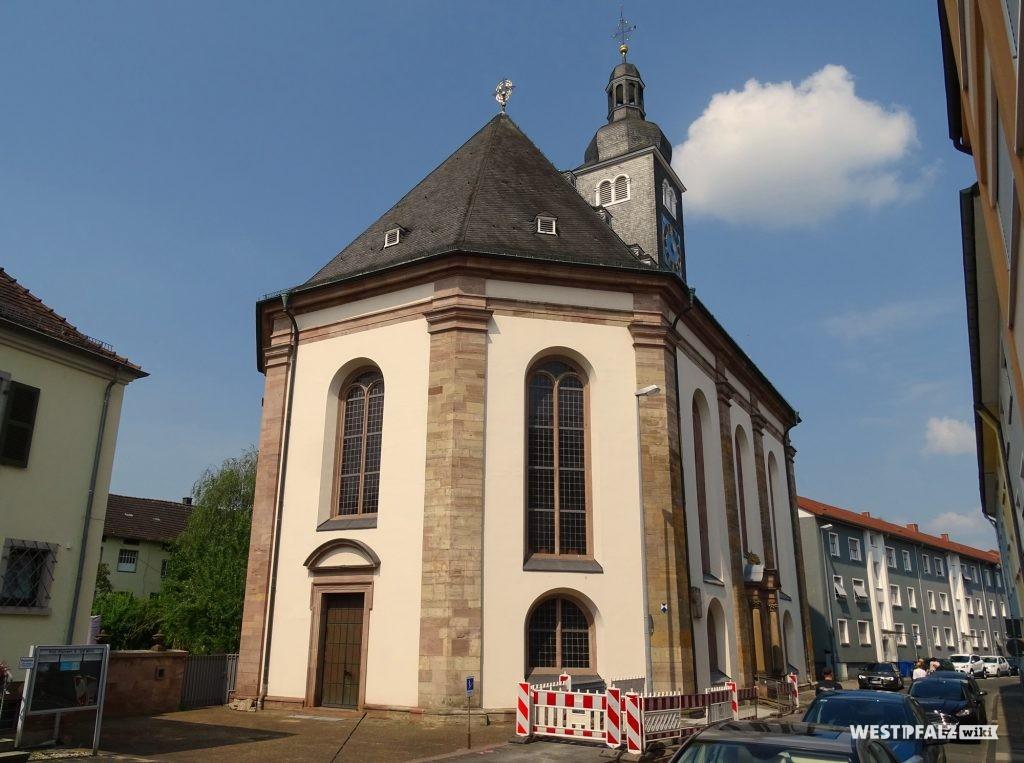 Ost-Front der Karlskirche in Zweibrücken