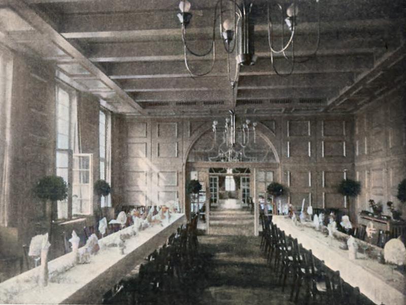Speisegaststätte auf dem ehemaligen Ausstellungsgelände