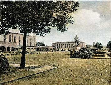 Ausstellungsgelände im Jahr 1940