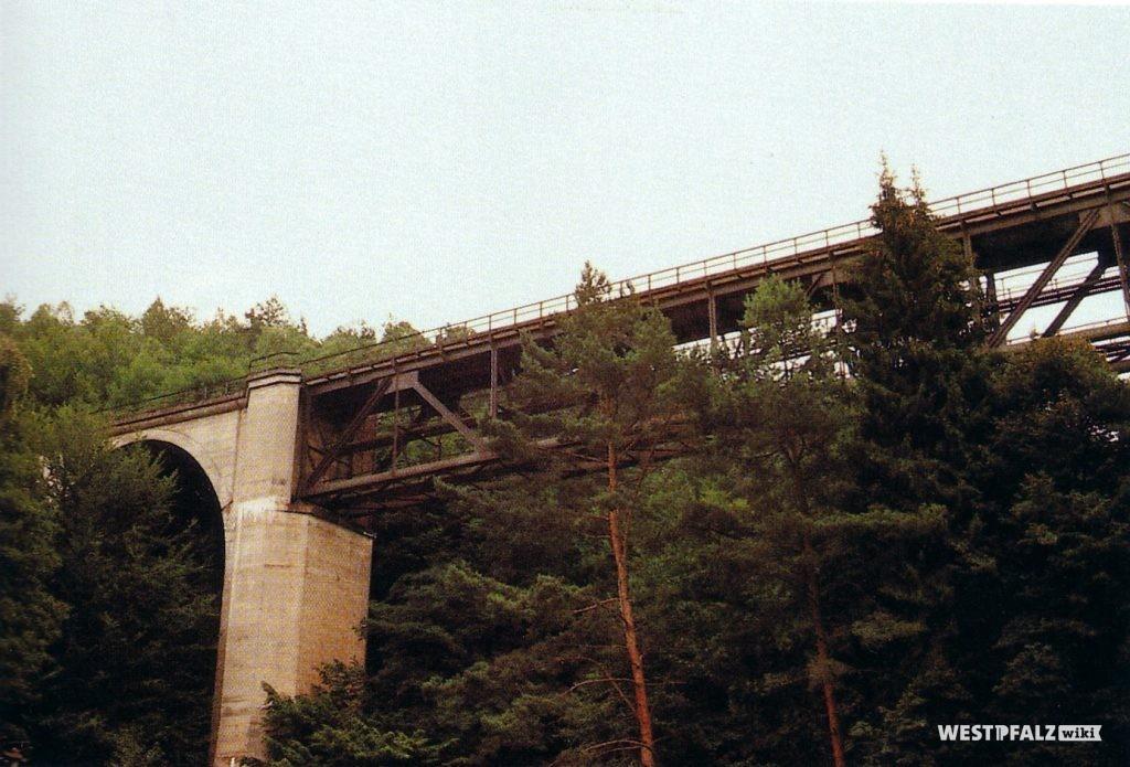 Teilansicht der Eiswoogbrücke