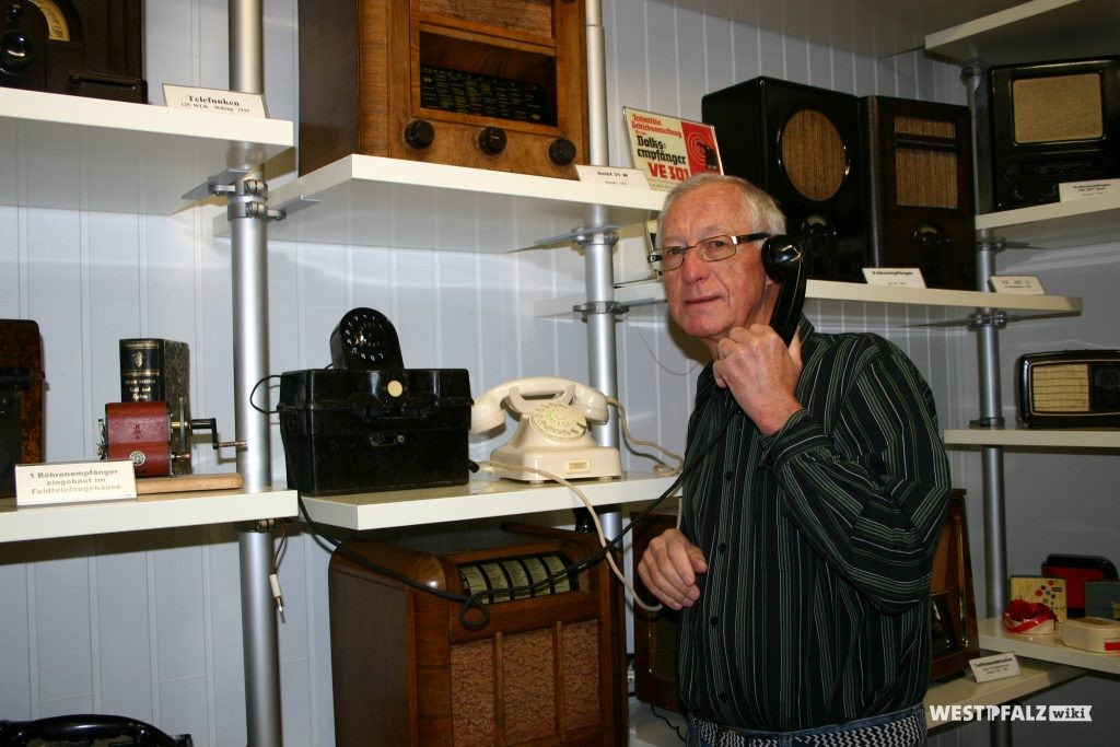 Hermann Nagel im Radio-Museum