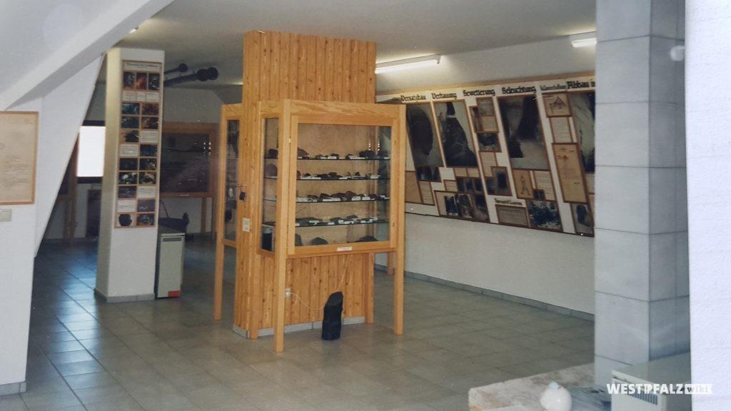 Blick in das Bergbaumuseum in Niedermoschel