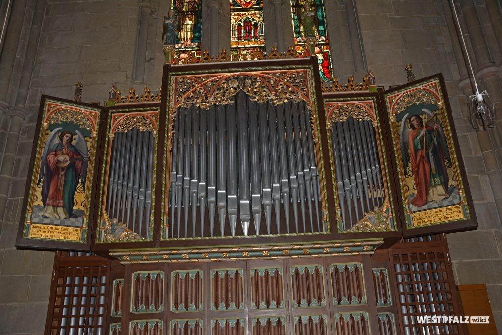Orgel in der Abteikirche Offenbach-Hundheim