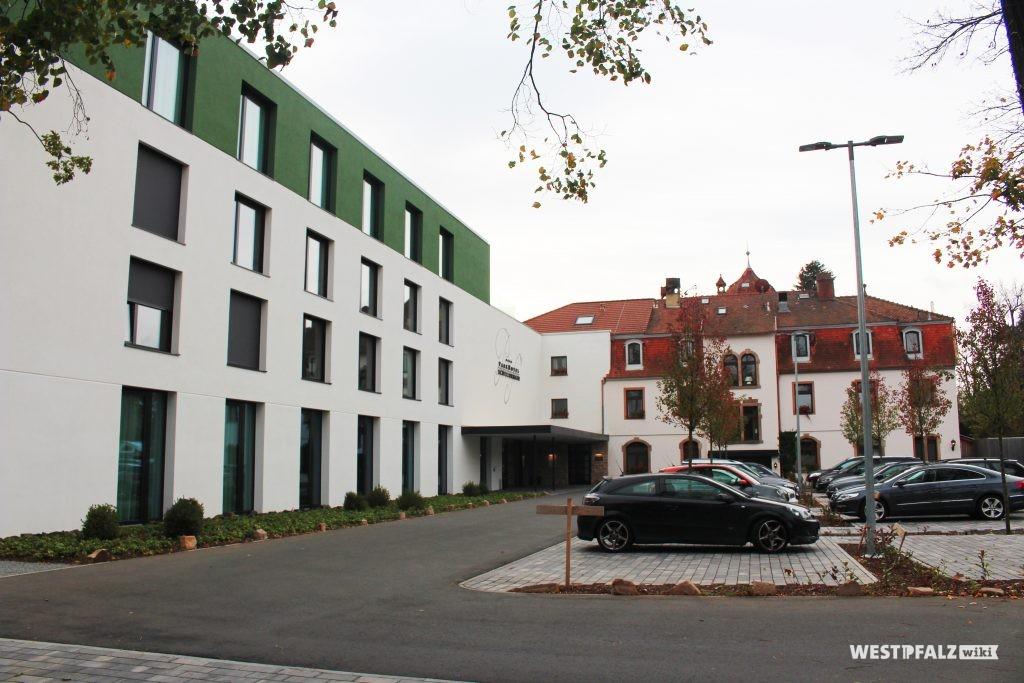 Ehemaliges Kurhaus in Kirchheimbolanden.