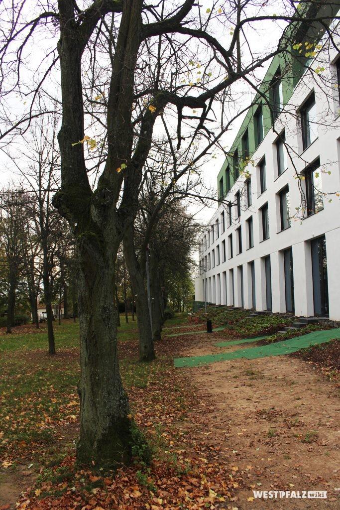 Die Erweiterung des ehemaligen Kurhauses, heute Parkhotel und Tagungsort.
