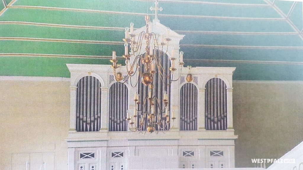 Orgel in der Pfarrkirche Münsterappel