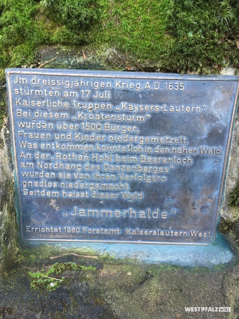 Gedenktafel Jammerhalde