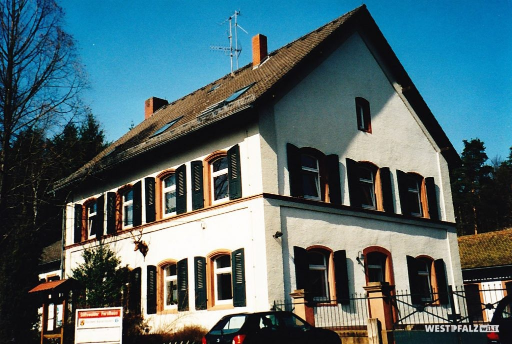 Forsthaus im Stiftswald im Jahr 2004
