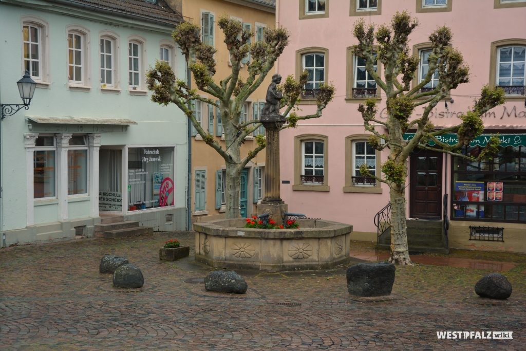 Hutmacherbrunnen in Kusel