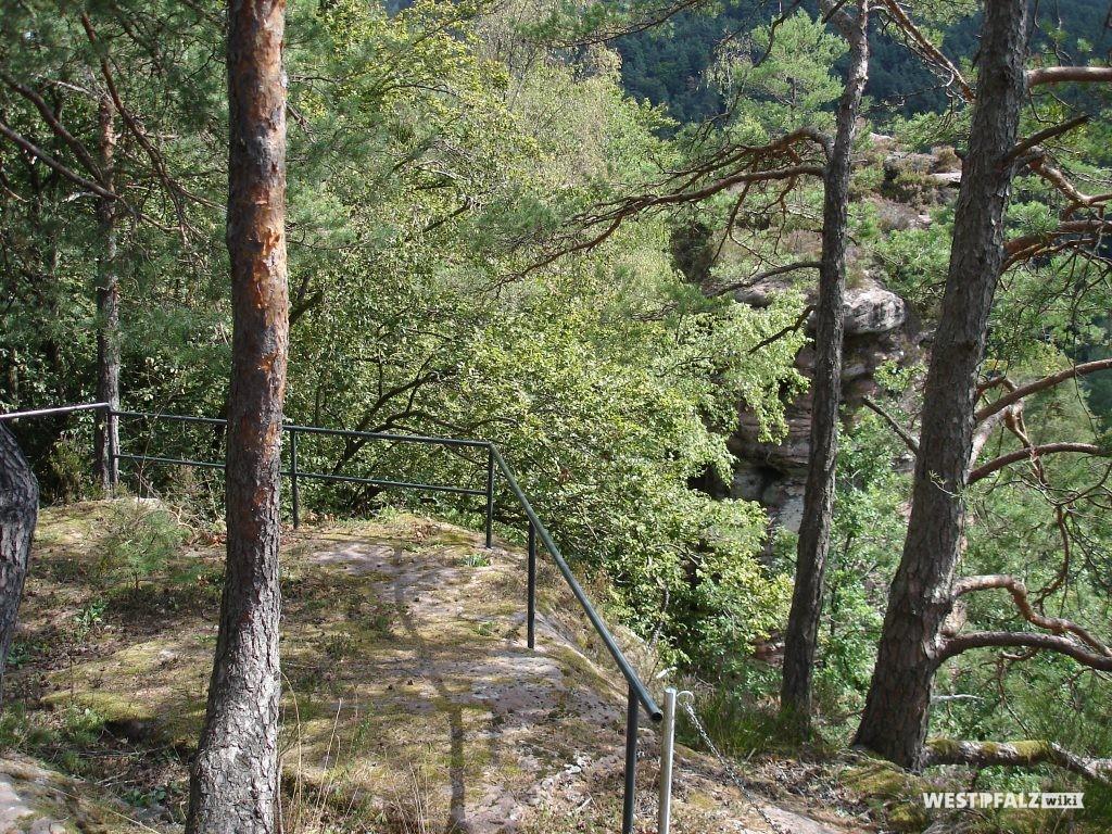 Südplateau der Wiligartaburg