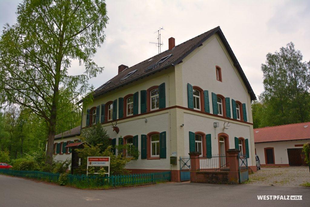 Forsthaus im Stiftswald im Jahr 2019