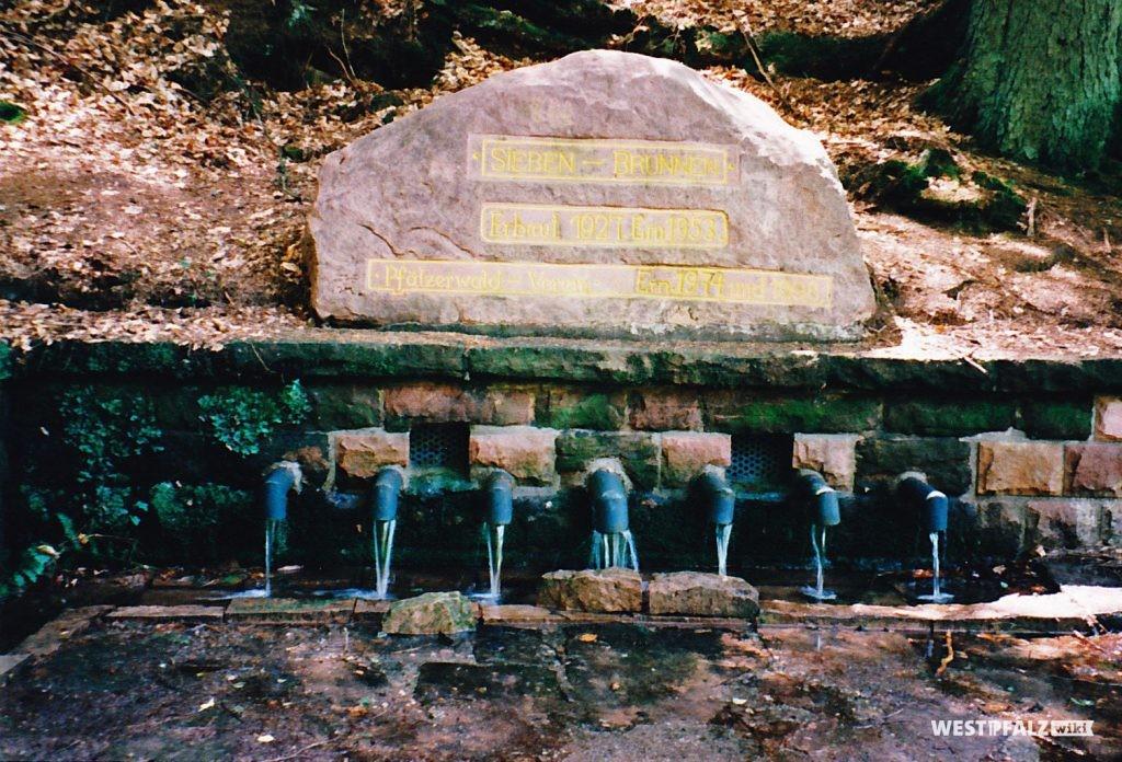 """Ritterstein Nr. 188 mit der Inschrift """"Siebenbrunnen"""""""