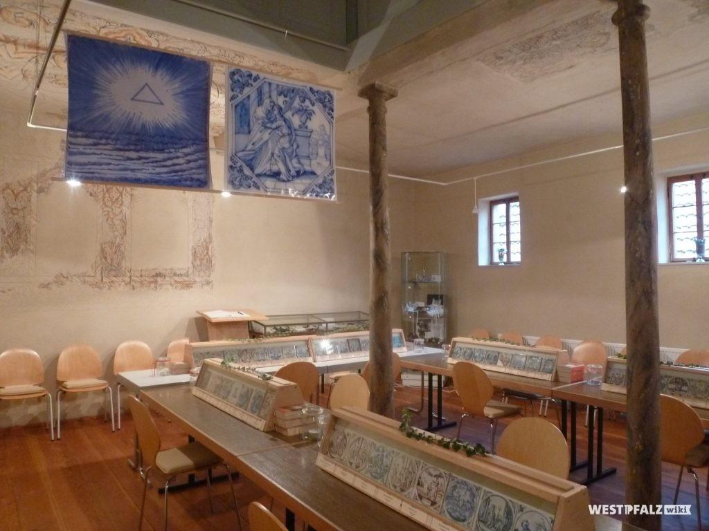 Bibelfließenausstellung in der Synagoge in Odenbach