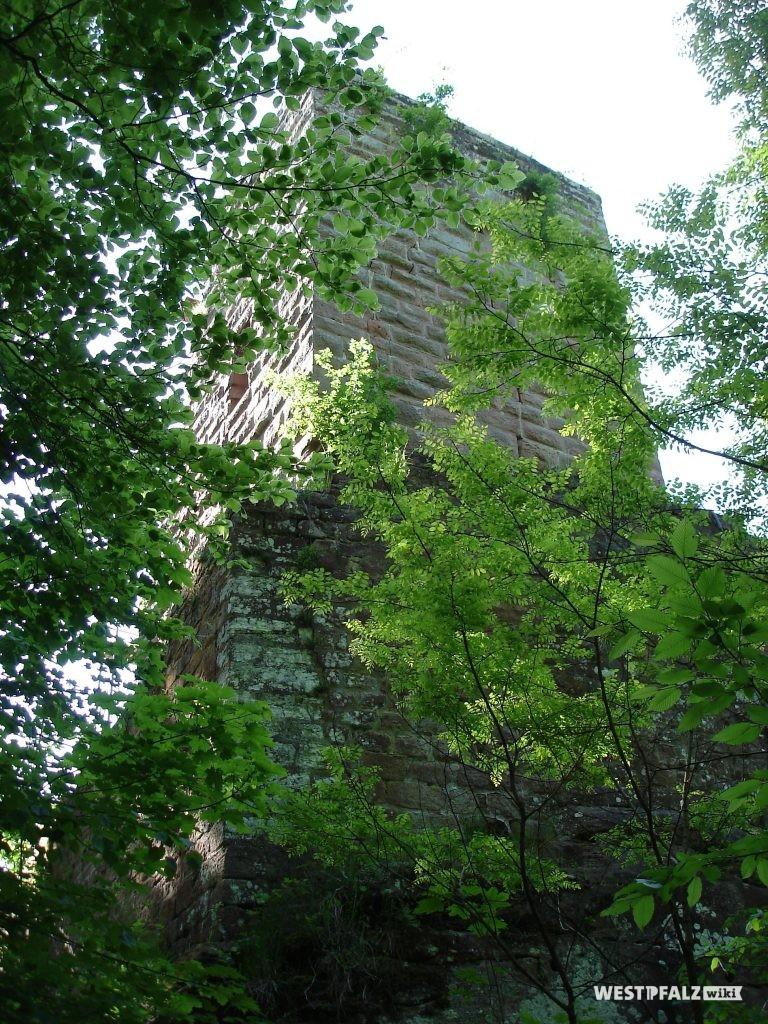 Burgfried der Burgruine Diemerstein