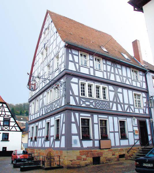 Blaues Haus in Otterberg