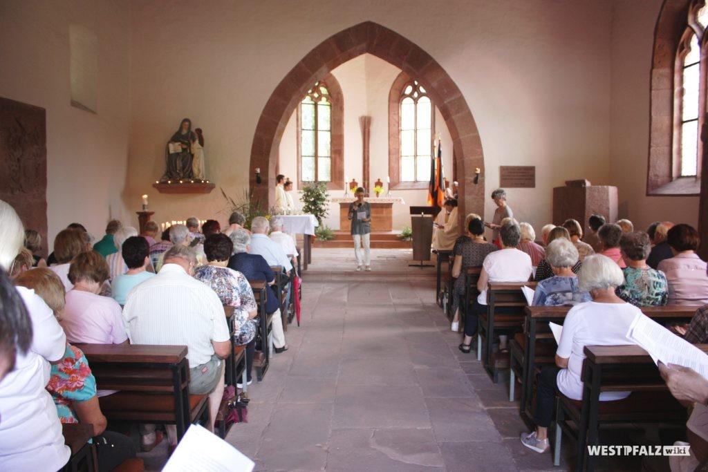 Kapelle innen, Wallfahrt 2018