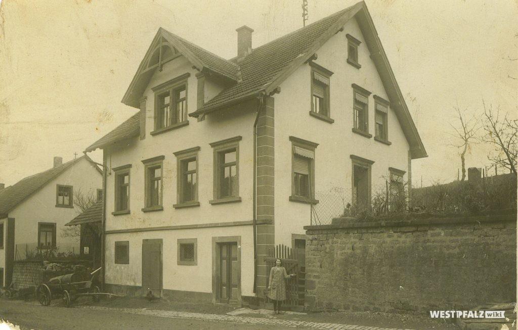 Ehemaliges Musikantenhaus des Kapellmeisters Otto Schwarz im Jahr 1924