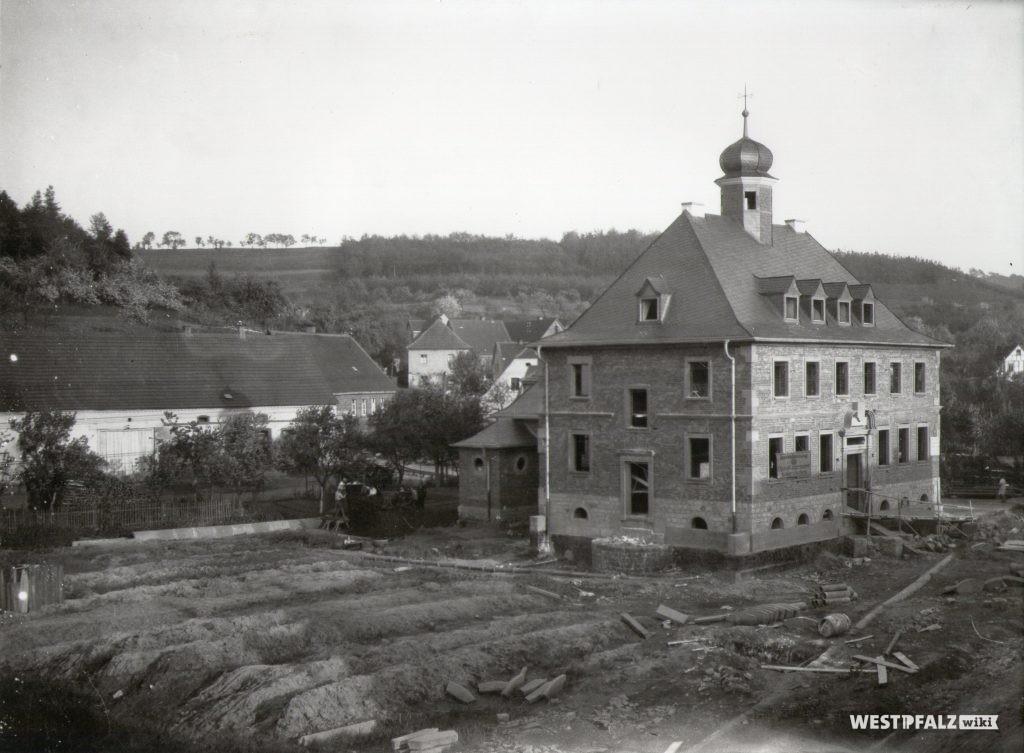 Baufortschritt Frühsommer 1927