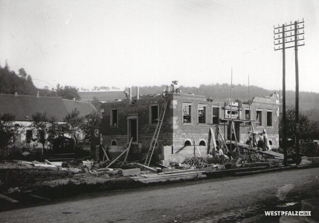 Foto aufgenommen  im Herbst 1926
