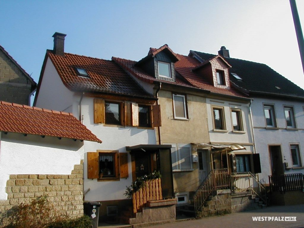 Drei ehemalige Steinhauerhäuser in Alsenz