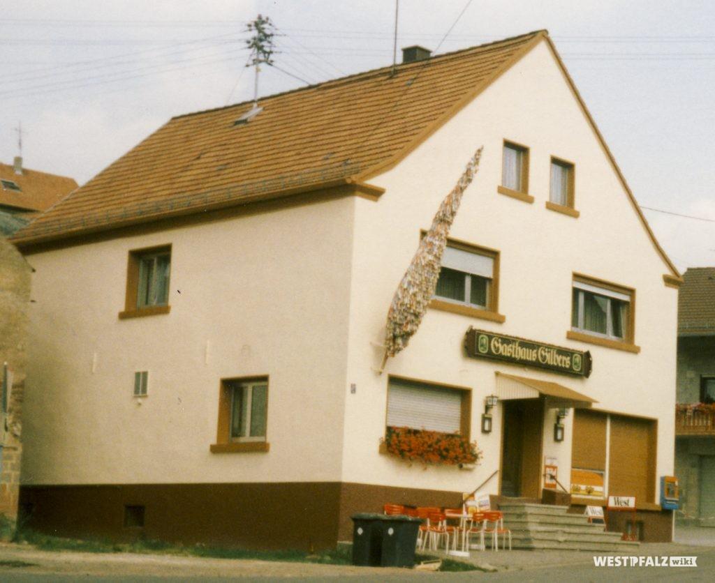 Gasthaus Gilbers in Hinzweiler etwa 1985