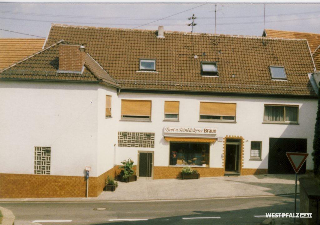 Bäckerei Braun in den 1980er Jahren