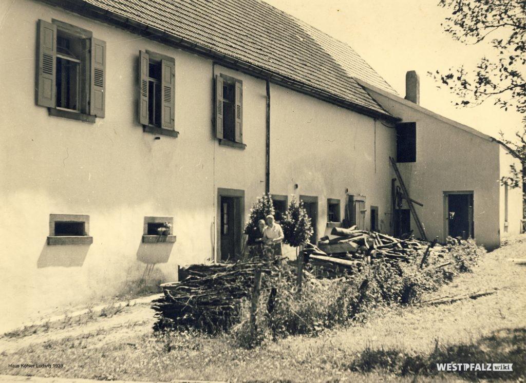 Rückseite der Schreinerei Köhler