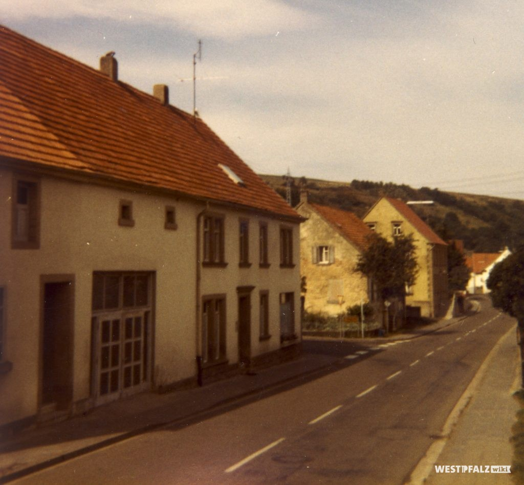Schreinerei Köhler Anfang der 1970er Jahre