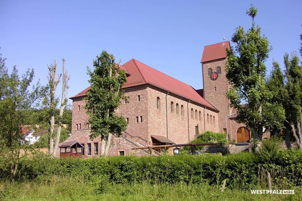 Kath. Kirche in Stambach