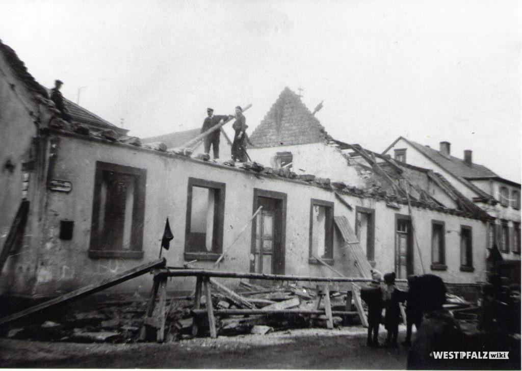 Erste Volksschule - Abriss