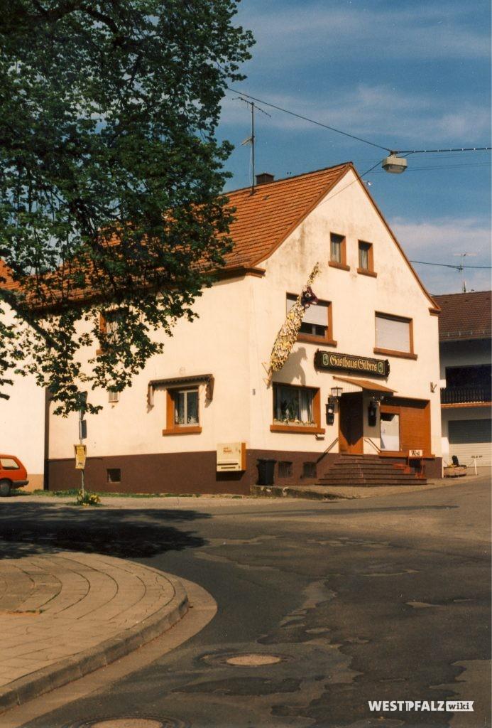 Gasthaus Gilbers inHinzweiler im Jahr 1999
