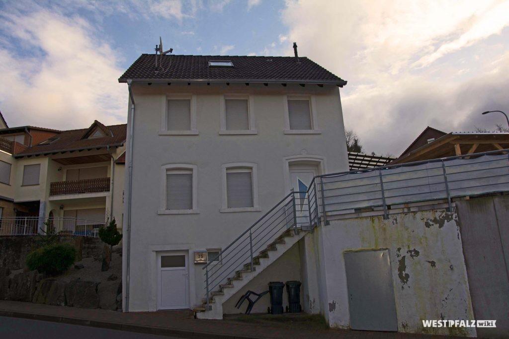 Ehemaliges Musikantenhaus von der Hauptstraße