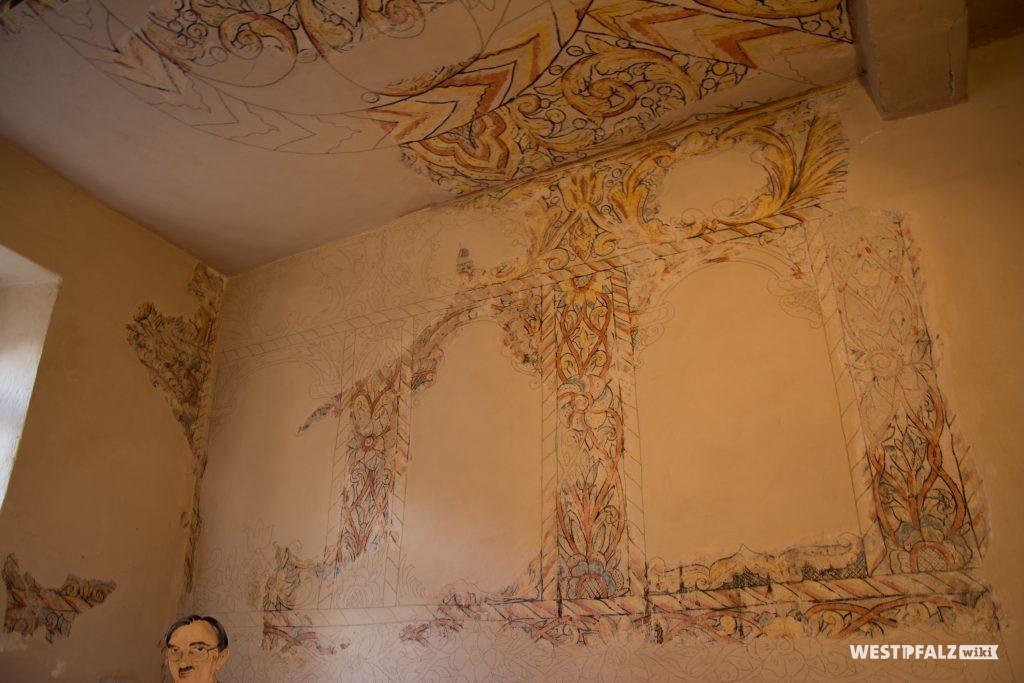 Wand- und Deckenmalereien von Elieser Sussmann
