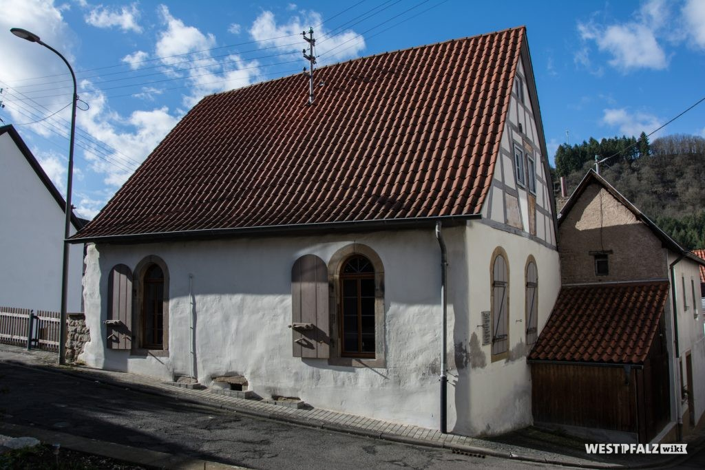 Außenansicht der Synagoge in Odenbach