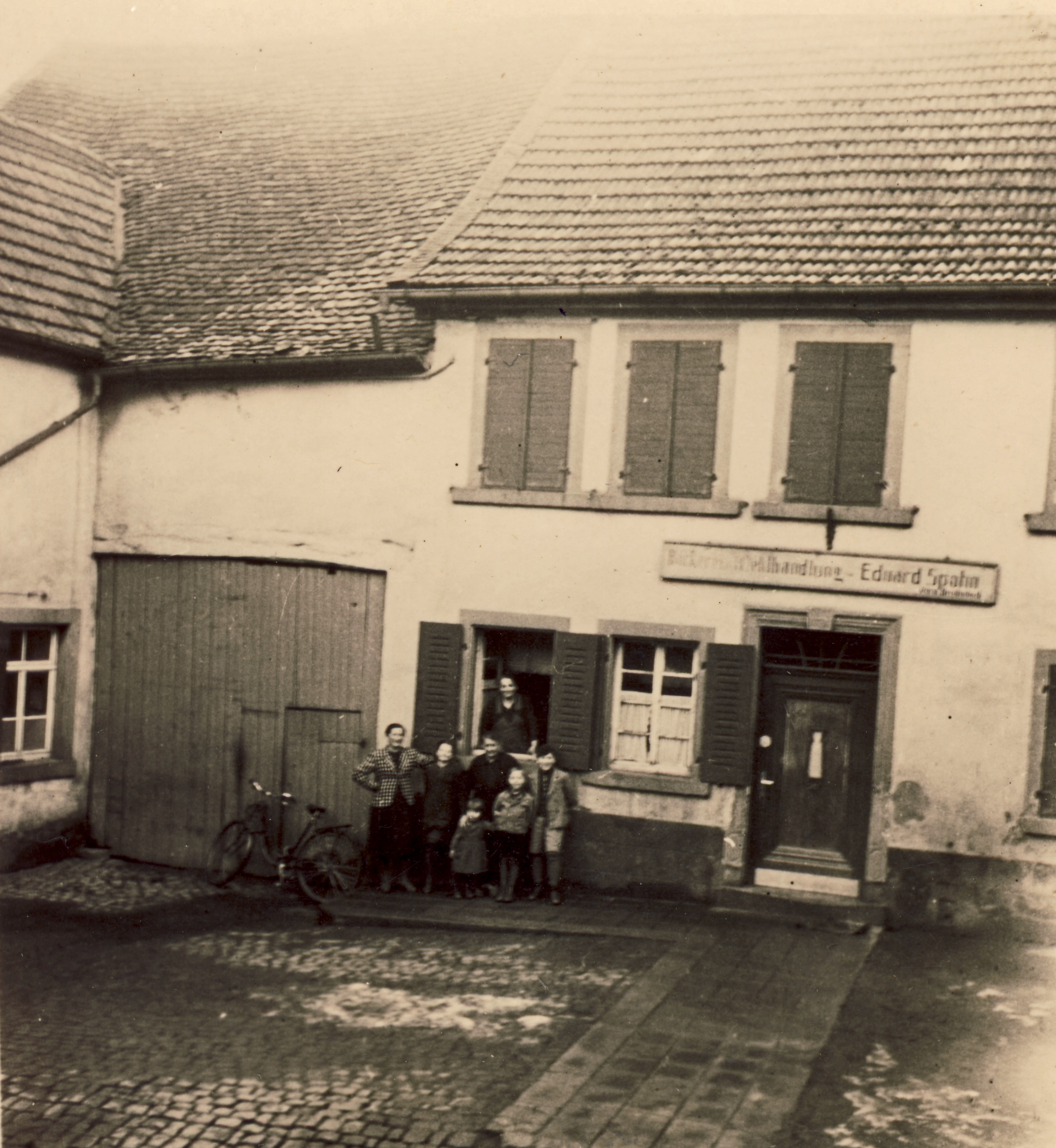 Bäckerei Eduard Spohn in den 1940er Jahren