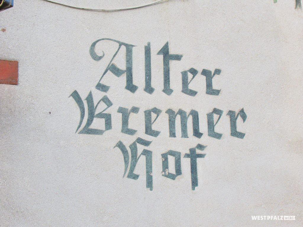 Alter Bremerhof, Schrift von Addi Schaurer