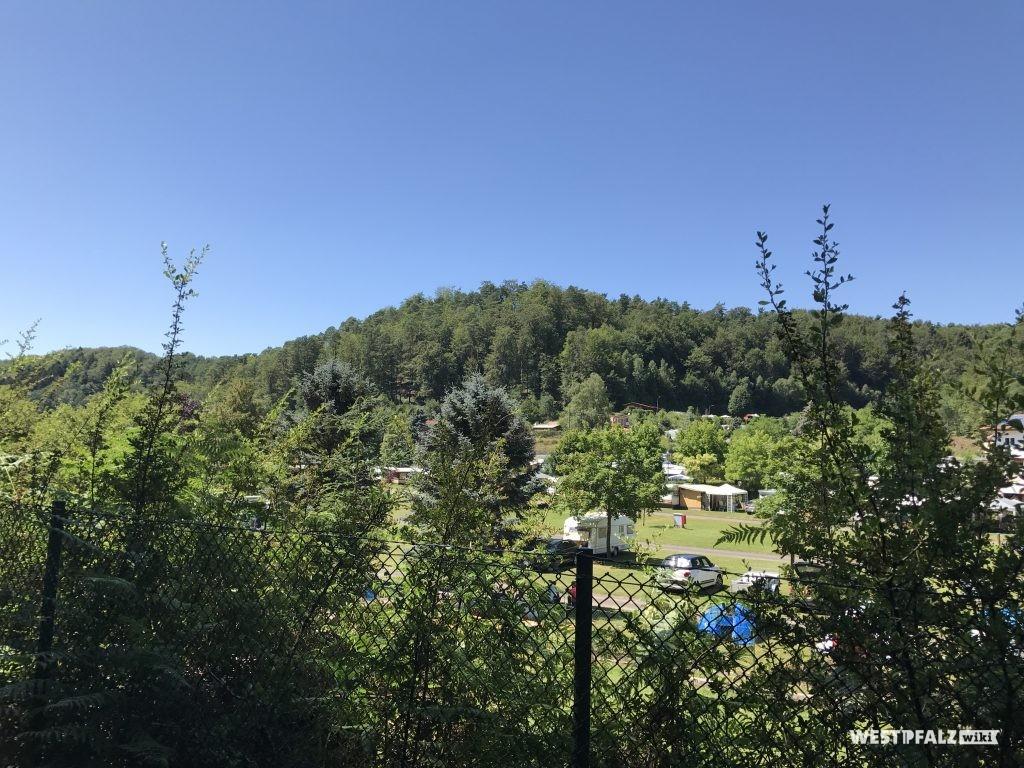 Ausblick über den Campingplatz