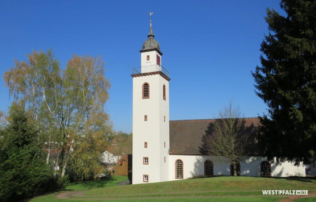 Protestantische Kirche in Erfenbach