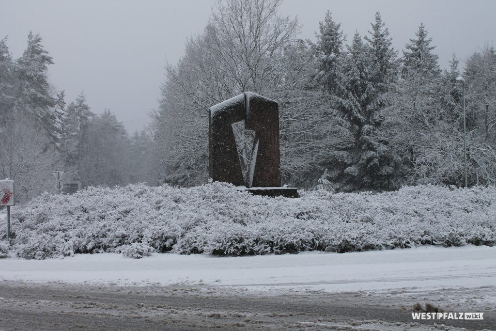"Skulptur ""Tor zum Biosphärenreservat"""