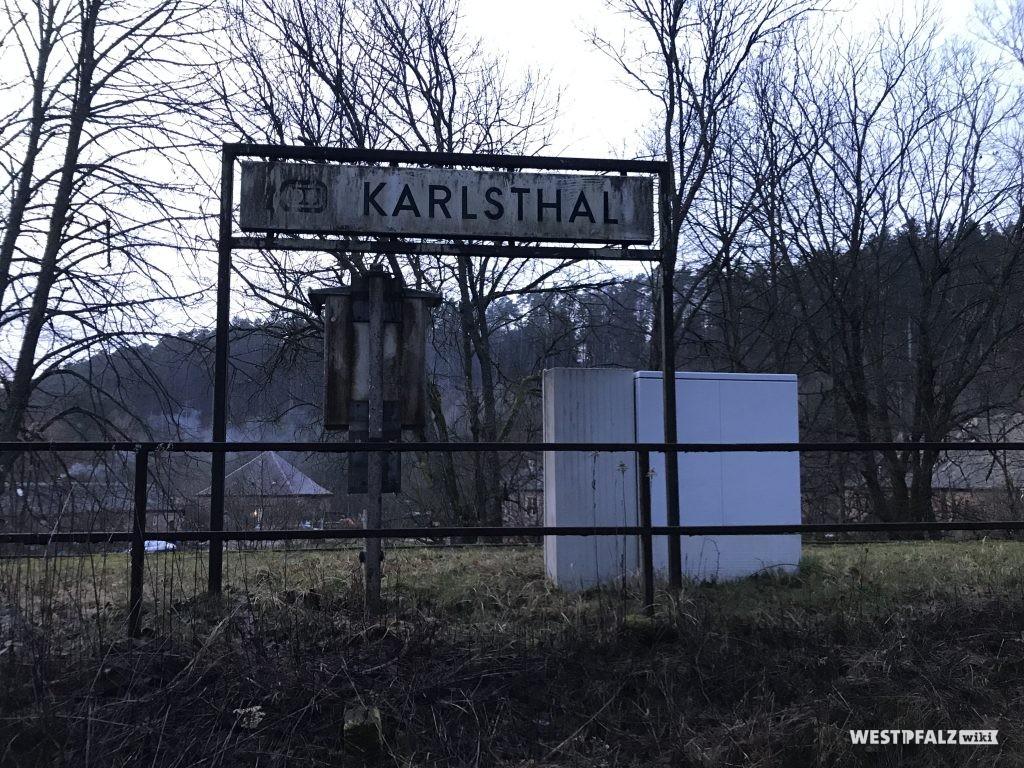 Ehemaliger Bahnhof Karlstal am Blechwalzwerk