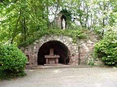 Mariengrotte der St. Laurentius Kirche