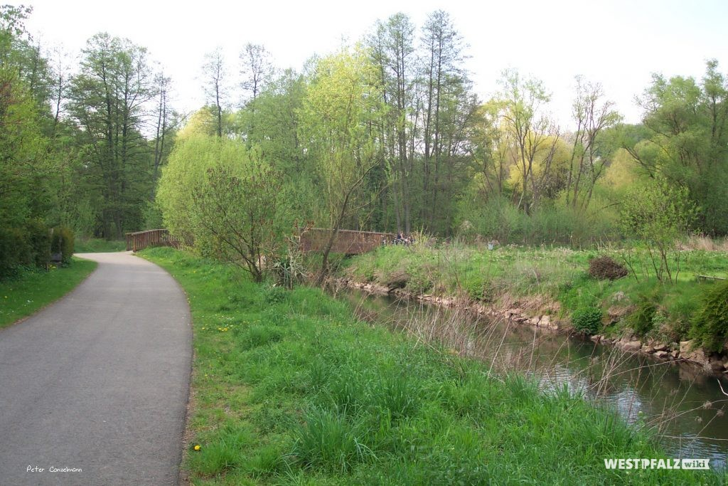 Wanderweg am Schwarzbach