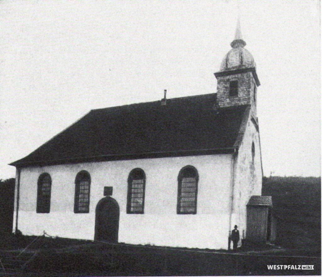 Protestantische Kirche vor dem Umbau